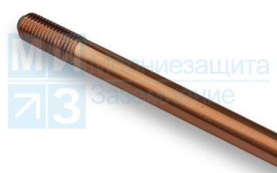 Стержень заземления омедненный 14 мм х 150 см