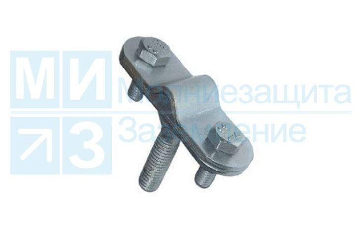 Держатель проводника круглого 8-10 мм для фасада, оцинкованный