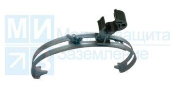 Держатель проводника круглого 8-10 мм для конька с пластиковым фиксатором
