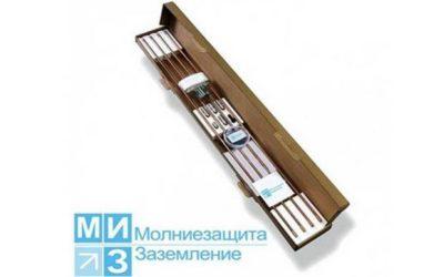 Комплект заземления омедненный 6 метров (1 х 6 м)