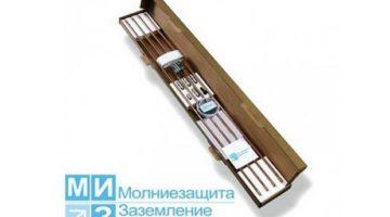 Комплект заземления омедненный 6 метров с насадкой SDS-max  (1 х 6 м)