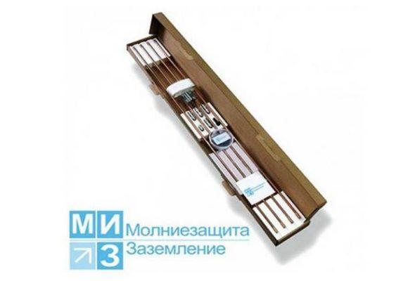 Комплект заземления омедненный 9 метров (1 х 9 м)