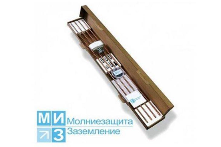 Комплект заземления омедненный 9 метров с насадкой SDS-max  (1 х 9 м)