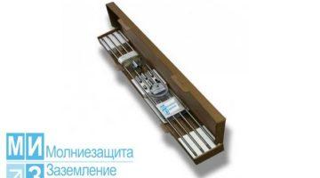 Комплект заземления оцинкованный 6 метров (1 х 6 м)