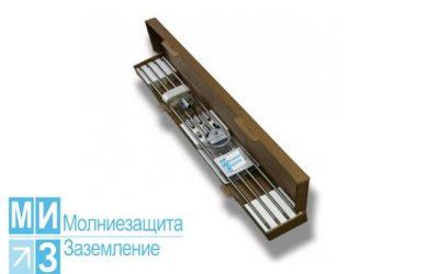 Комплект заземления оцинкованный 9 метров (1 х 9 м)