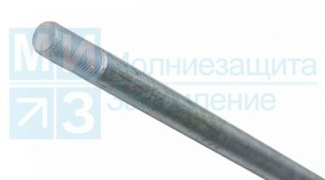 Штырь заземления оцинкованный 16 мм х 120 см