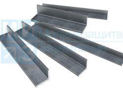 Уголок стальной оцинкованный для заземления 50х50х5 мм х 3м