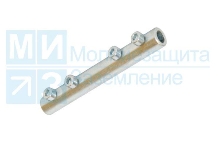 Зажим соединительный продольный для проводника 8-10 мм, оцинкованный