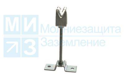 Держатель проводника круглого 8-10 мм, 100 мм, оцинкованный