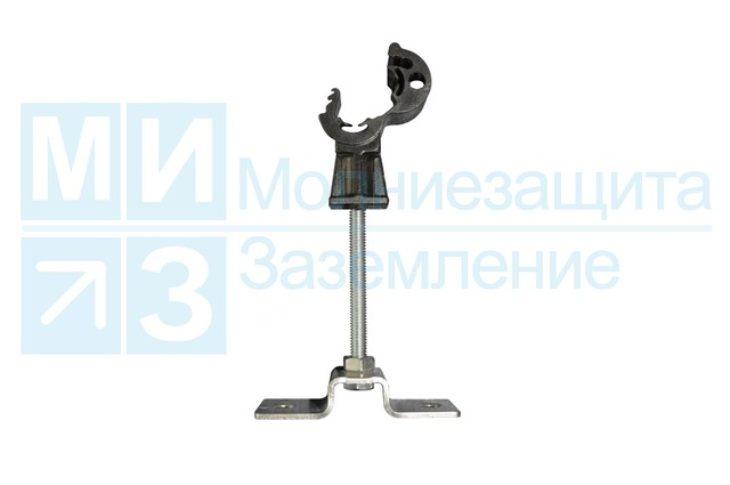 Держатель проводника круглого 8-10 мм дистанционный 100 мм, пластик