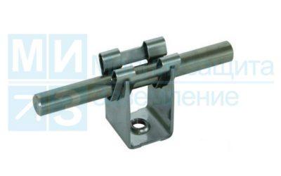 Держатель проводника круглого 8-10 мм, 35 мм, оцинкованный