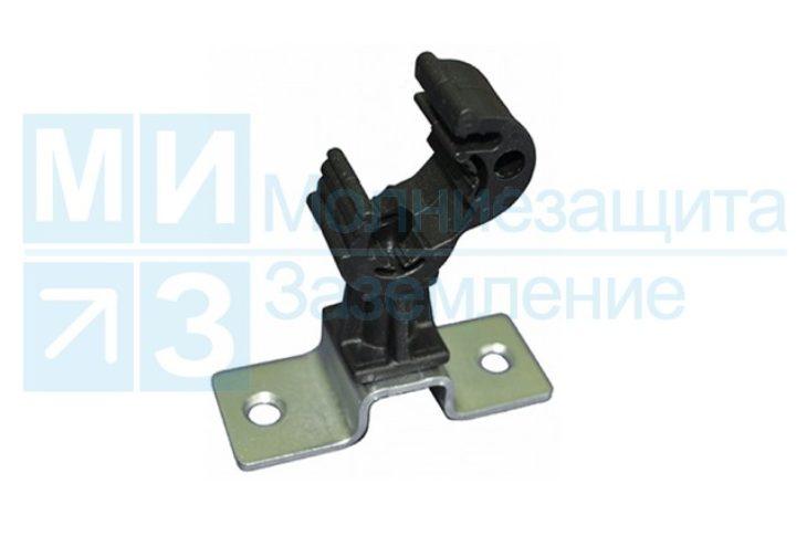 Держатель проводника круглого 8-10 мм дистанционный 45 мм, пластик
