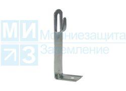 Держатель проводника круглого 6-10 мм универсальный 110 мм оцинкованный