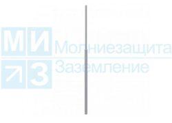 Мачта молниеприемная 5,5м, нержавейка/алюминий (без основания)