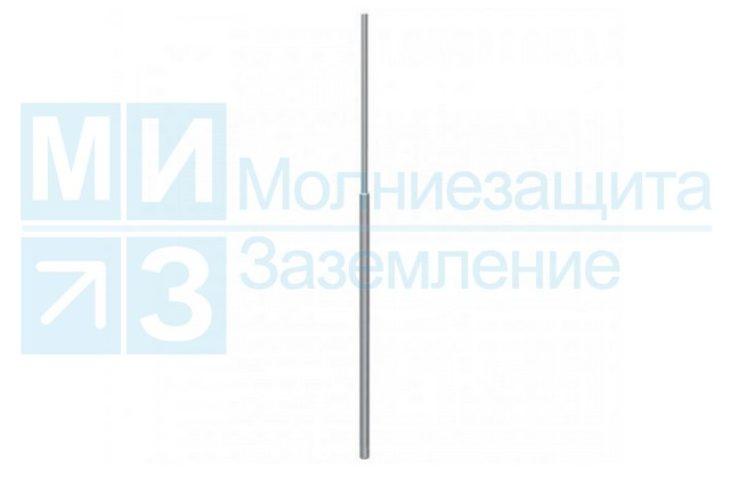 Мачта молниеприемная 7 м, нержавейка/алюминий (без основания)