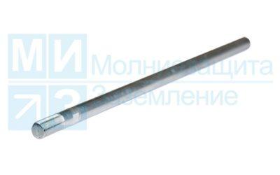 Молниеприемник 2 м алюминиевый, стержневой