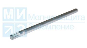 Молниеприемник 1 м алюминиевый, стержневой