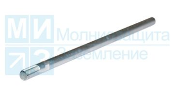 Молниеприемник 3 м алюминиевый, стержневой