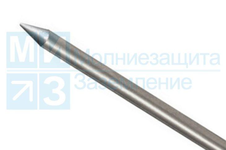 Стержень заземления оцинкованный 16 мм х 120 см стартовый